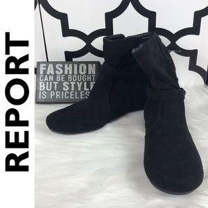 Report Black Booties